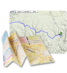 Use our road trip planner to easily create your route and personal itinerary.